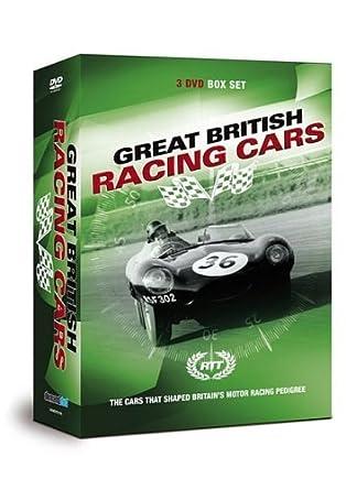 Racing Through Time - Great British Racing Cars DVD: Amazon
