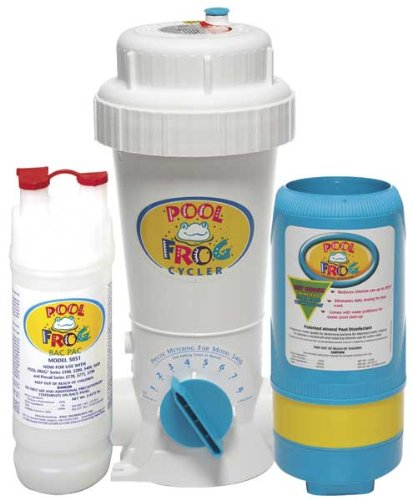 Pool Frog 01-01-5480 Series 5400 Inground Swimming Pool Mineral Sanitizer Cycler by King Technology
