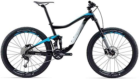 GIANT Trance 4, suspensión Total Bicicleta de montaña 2017, Negro ...