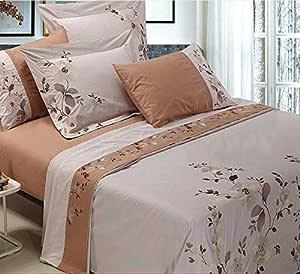 Modern B&W 8 pcs duvet king size set, 230x270