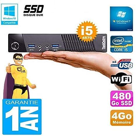 Lenovo Ultra Mini PC M73 USFF Tiny Core i5 - 4570 4 GB Disco 480 ...