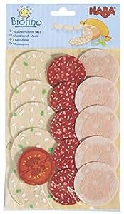Haba 1461 Biofino - Paquete de embutidos para mercado de juguete