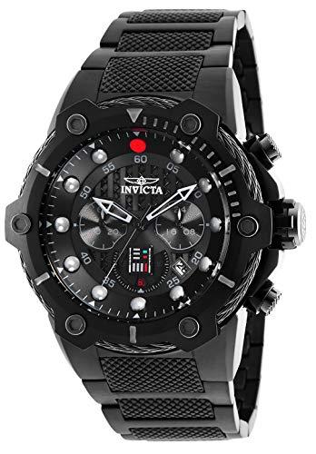 (Invicta Men's Star Wars Quartz Watch with Stainless-Steel Strap, Black, 30 (Model:)