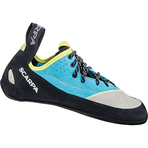 Scarpa Velocity L Zapatos turquoise Escalada De W Lightgray gUPUS