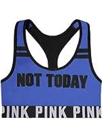 Victoria's Secret PINK Logo Racerback Bra Top Not Today