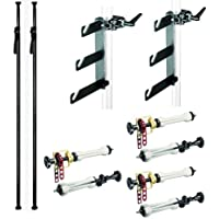 Manfrotto 2961D Deluxe Autopole Expan Kit with Autopoles, Expan Drives and Hooks (Black)