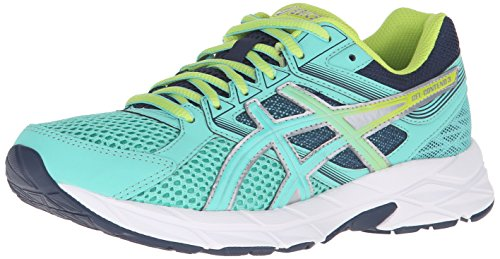 ASICS Women's Gel-Contend 3 Running Shoe, Cockatoo/Neon Lime/Dark Navy, 11 M US