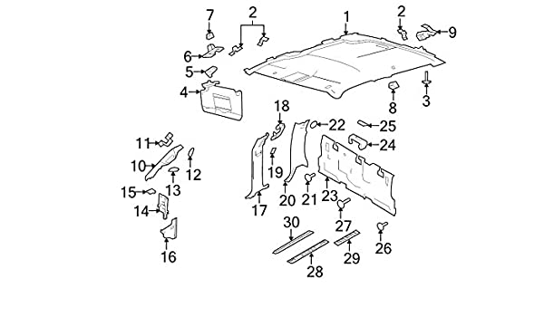 Ford CL3Z-1503598-AB Moulding Windshield