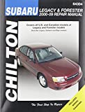 Chilton Total Car Care Subaru Legacy 2000-2009 & Forester 2000-2008 Repair Manual