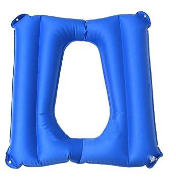 Cojín de asiento de inodoro inflable Cojín de inodoro y ...