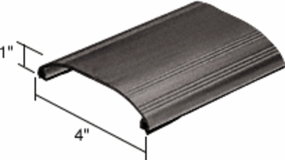 CRL Bronze Residential All-Purpose Threshold 4'' Wide 1'' High - 36-1/2 in long by C.R. Laurence