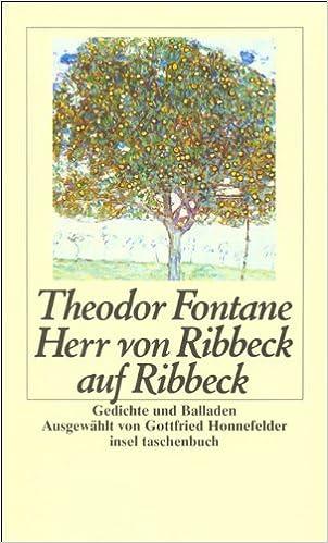 Theodor fontane gedichte und balladen