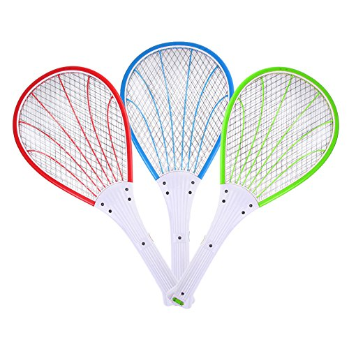 Rechargeable Electronic Mosquito Insect Swatter Pro Fly Bug Winged Worm Killer