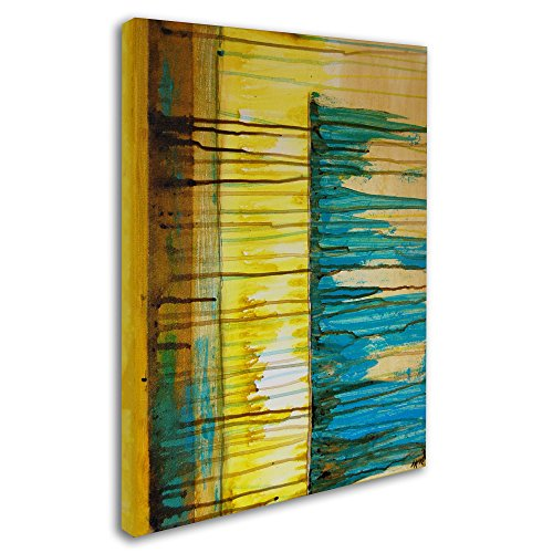 Trademark Fine Art The Waterfall Artwork by Nicole Dietz, 18 by 24-Inch