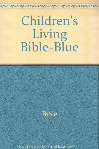 Children's Living Bible-Blue