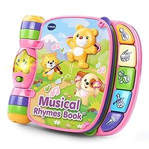 VTech Musical Rhymes Book - Pink - Online Exclusive - 51povGpfsnL - VTech Musical Rhymes Book, Pink