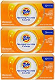 Tide Washing Machine Cleaner, 5 pouches (Pack of 3)
