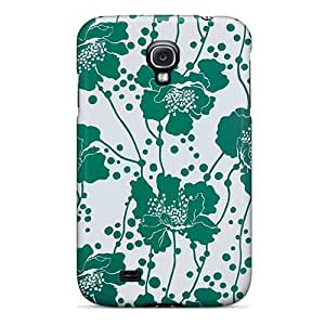 Galaxy S4 Covers Cases - Eco-friendly Packaging(kate Spade Green Floral)