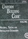 Uniform Building Code, 1994, International Conference of Building, 1884590381