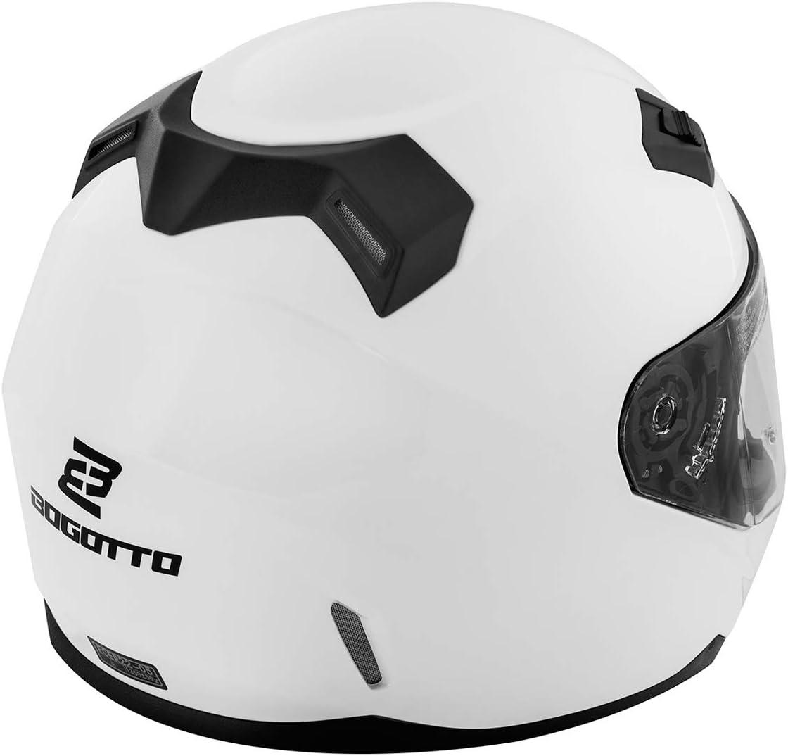 Bogotto FF391 Helm Wei/ß L