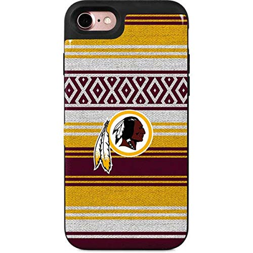 Skinit Washington Redskins iPhone 8 Wallet Case - Officially Licensed NFL Phone Case - Wallet iPhone 8 Cover