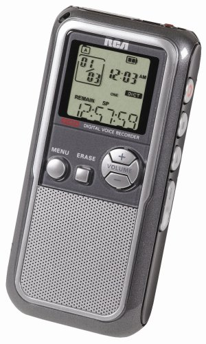RCA RP5120 256MB USB 104 Hour Recording Digital Voice Recorder