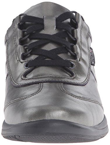 Mephisto Calfskin Perl Dark Shoe Women's Laser Grey Walking rfOHrq