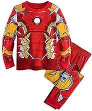 GERGER BO Boys Pajamas Kids 100% Cotton Cartoon Sleepwears