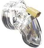 amazon com cb6000s clear male chastity belt cage