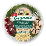 Ready Pac Foods Elevate Organic Salad, Spinach Salad with Chicken, 4.5 oz
