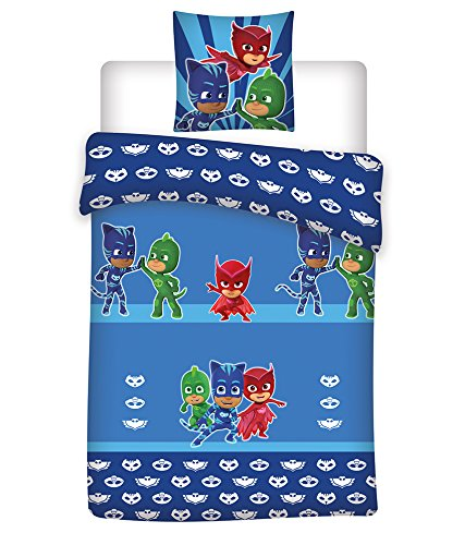 PJ MASKS Children Single Polyester Duvet Set PJMasks
