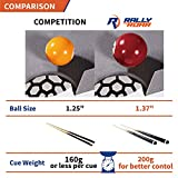 Rally and Roar Tabletop Pool Table Set and