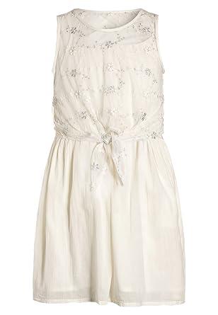 Sisley SISLEY Cocktailkleid / festliches Kleid Mädchen - offwhite ...