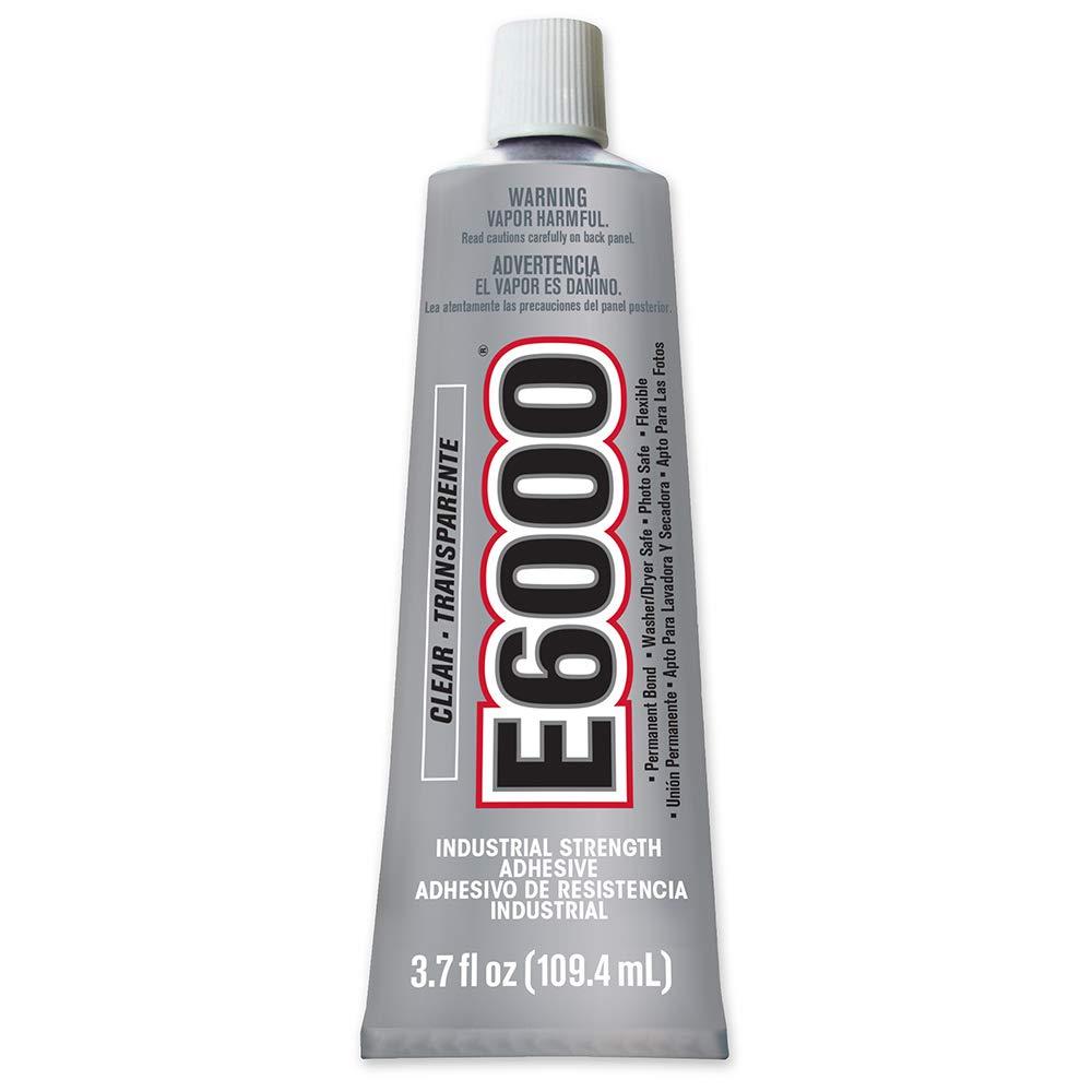 E6000 230012 Craft Adhesive, 3.7 Fluid Ounces, Single Pack, Transparent