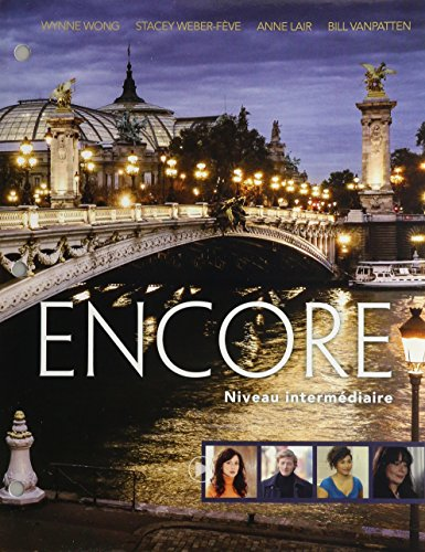 Bundle: Encore Intermediate French: Niveau intermediare, Loose-Leaf Version, 1st + iLrn Language Learning Center, 4 terms (24 months) Printed Access Code