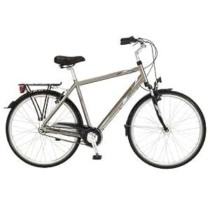 Kettler Bicicleta de paseo para hombre, 55 cm, color rojo