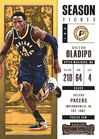 2017-18 Panini Contenders Season Ticket  2 Victor Oladipo Indiana Pacers  Basketball Card 504d869b4