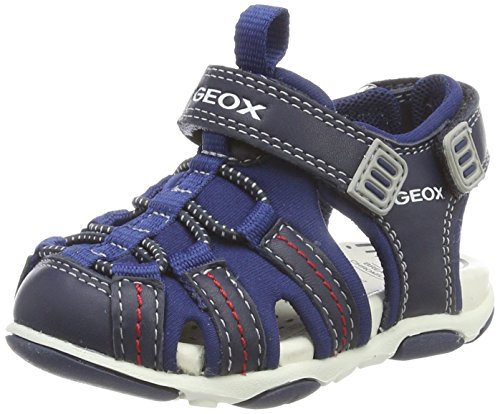 Geox Boys Baby Agasim Fashion Sandals,Navy,24