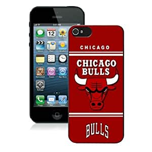 Chicago Bulls Iphone 5 Case Iphone 5s Case 55 NBA Phone Cases Free Shipping