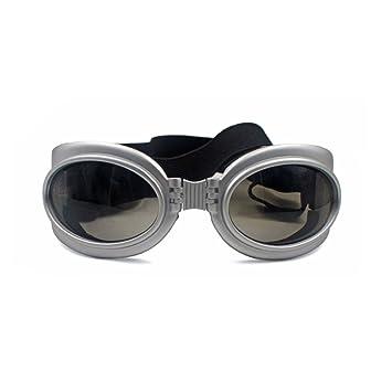 PETCUTE Animal de Compagnie UV Goggle des Lunettes de Soleil Imperméable  des Lunettes de Soleil pour f11de8d42d1f
