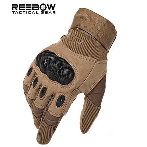 Huitao US Army Tactical Military Gloves Outdoor Sports Fu...