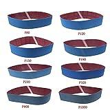 8PCS Sander Belt, 100mmX915mm WCIC Aluminum Oxide Sander Polishing Grinding Belt Abrasive Sanding Belts 80 120 150 180 240 320 800 1000 Grit
