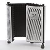 LyxPro VRI-10 Portable Adjustable Sound Absorbing Vocal Recording Panel Acoustic Isolation Microphone Foam Shield - Stand Mount or Desktop Desk Use (Certified Refurbished)