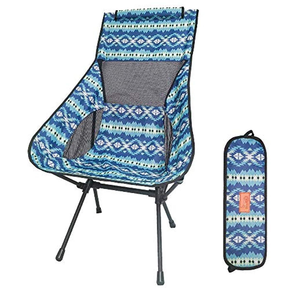 [해외] DESERTFOX 아웃도어 체어 접이식 초경량【하이 화이트】【내하중150KG】콤팩트 의자 의자 수납 대부속 낚시 등산 휴대 편리 캠프 의자008