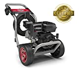 Briggs & Stratton S3200 3200 MAX PSI at 2.4 GPM Gas Pressure Washer with Easy Start Technology, 30-Foot High-Pressure Hose, and 4 Quick-Connect Nozzles