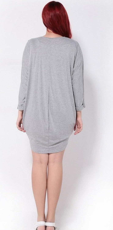 Woo2u Women Plus Size Casual Long Sleeve Loose Open Front Lightweight Coat