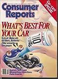 CONSUMER REPORTS Toyota Camry Mitsubishi Galant Nissan Stanza Pontiac 2 1987