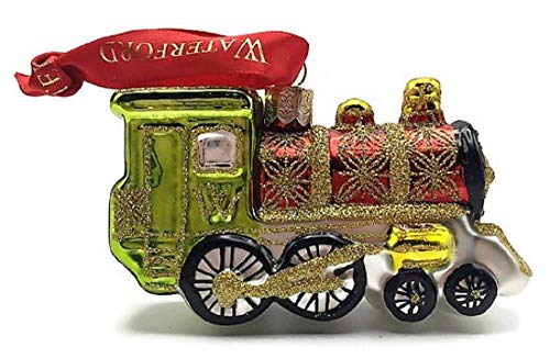 - Waterford Holiday Heirlooms Christmas Train Engine Ornament