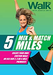 Create your own personal walking plan with our customizable menu or use our 2, 3 or 4-mile premixes!With over 90 minutes of walking time, this program features five 1-mile walks, plus separate warm up and cool down segmentsNo Floor Work, No E...