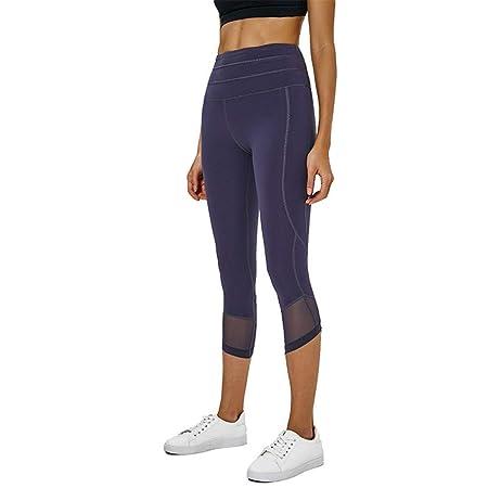 PengShi 2019 Pantalones de Yoga con Costuras de Nueva Jersey ...